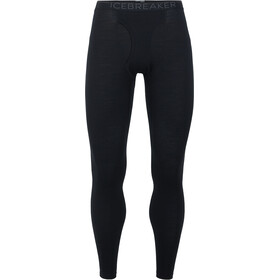 Icebreaker 200 Oasis Leggings with Fly Men Black/Monsoon
